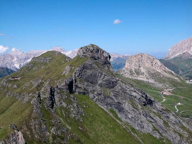 Col da Cuch (2563m), Sass...