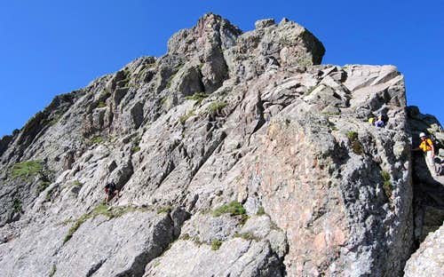 Milwaukee Peak's crux