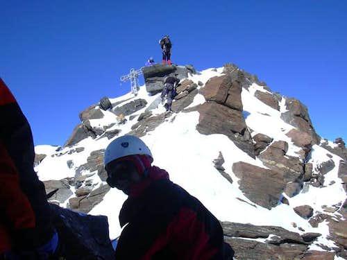 Summit ridge (east)