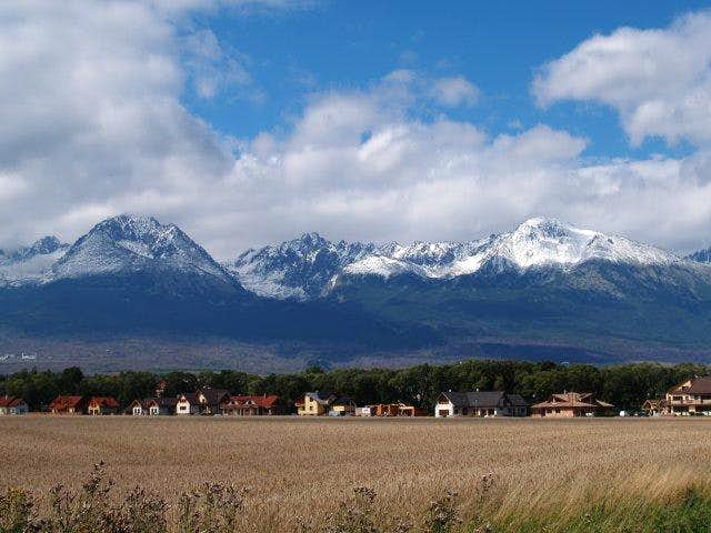 Tatra Mountains in August,...