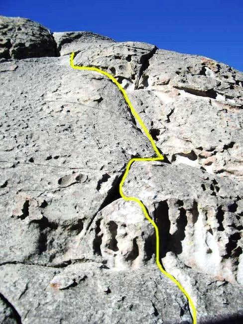 Hough\'s Crack (5.7) on the...