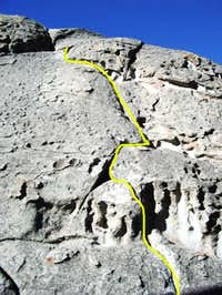 Hough's Crack (5.7) on the...
