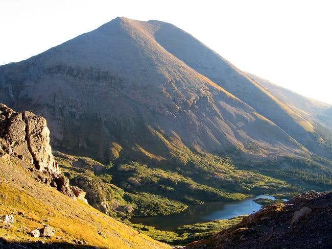 Humboldt Peak from Broken...