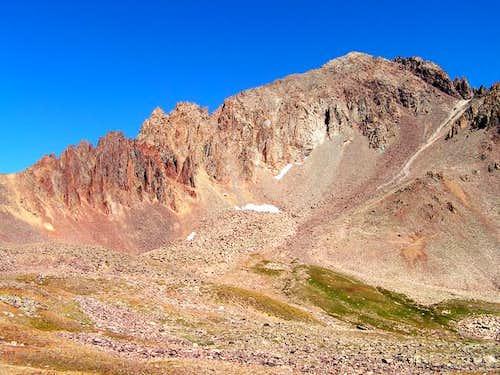 Mt. Sneffels from below...