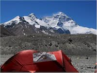 My tent at base camp one...