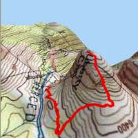 This is a TOPO! 3D map of the...