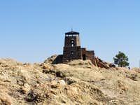 Harney Peak as seen from the...