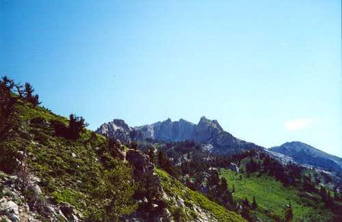 Lone Peak viewed on the...