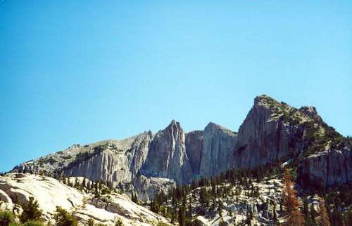 Lone Peak above the Cirque