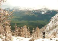 Bow Valley seen from the...