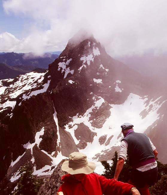 Summit of Mt. Roosevelt with...