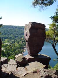A picture of  Balanced Rock ...