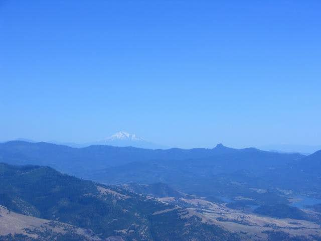 Mount Shasta , Pilot Rock...