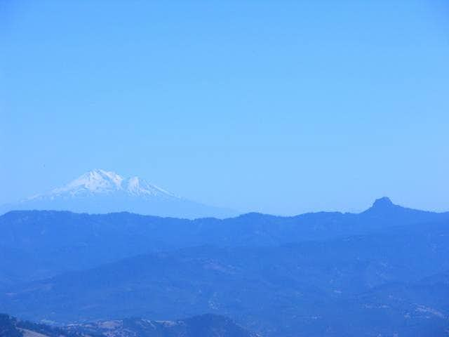 Mount Shasta and Pilot Rock...