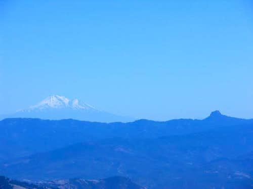 Mount Shasta and Pilot Rock...