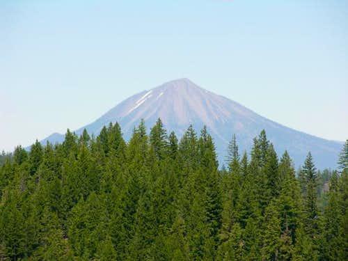 Mount McLoughlin as seen...