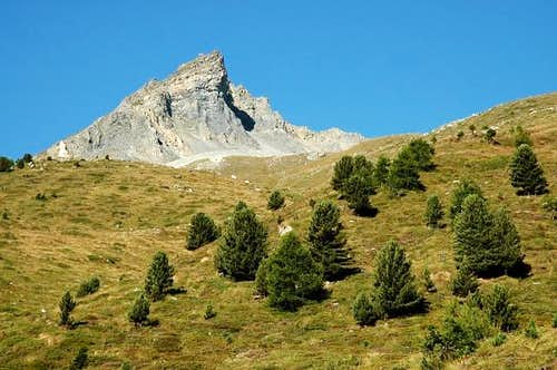 Mont Dolin seen from the...
