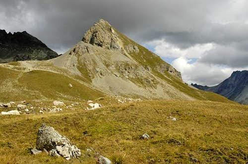 Mont Dolin from the path that...