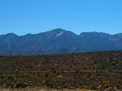 La Madre Mountain from SR 157