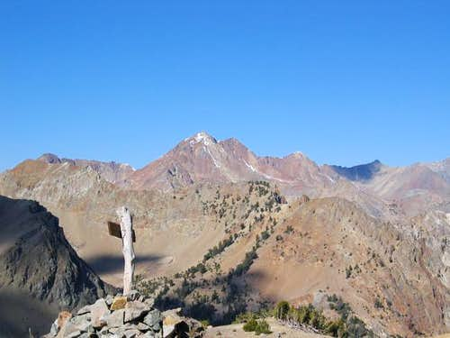 The top of West Pass with...