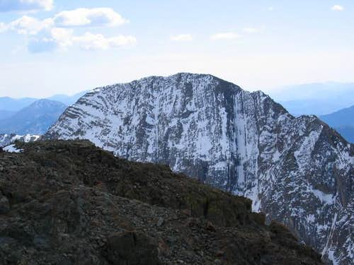 North side of Kent Peak from...
