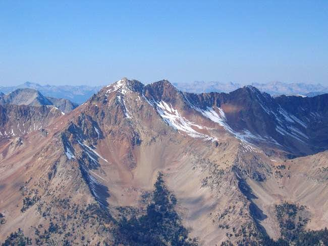 Glassford Peak from the top...