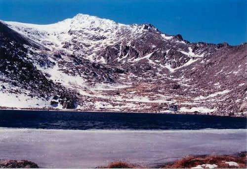 A view of Jasper Peak (12,923...