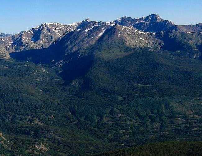 Whitney Peak is the mountain...