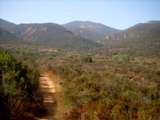 A view from the Santee trail...