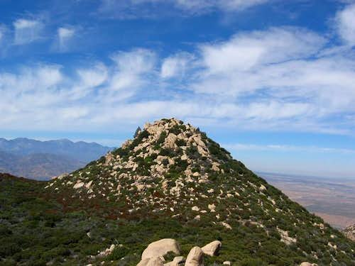 View of Pinnacles summit. You...