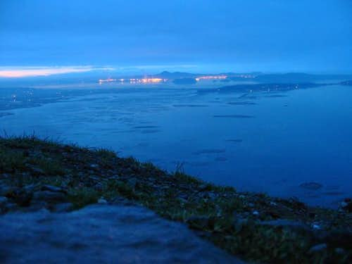 Anacortes and the lights of...