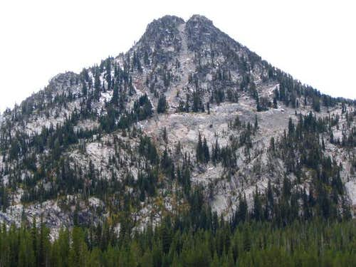 Gunsight Mountain's north...