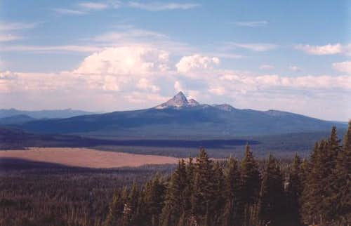 Mt. Thielsen from Crater Lake