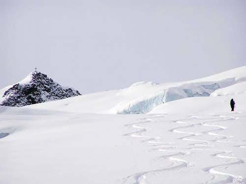 A fantastic ski-route: Wilder...