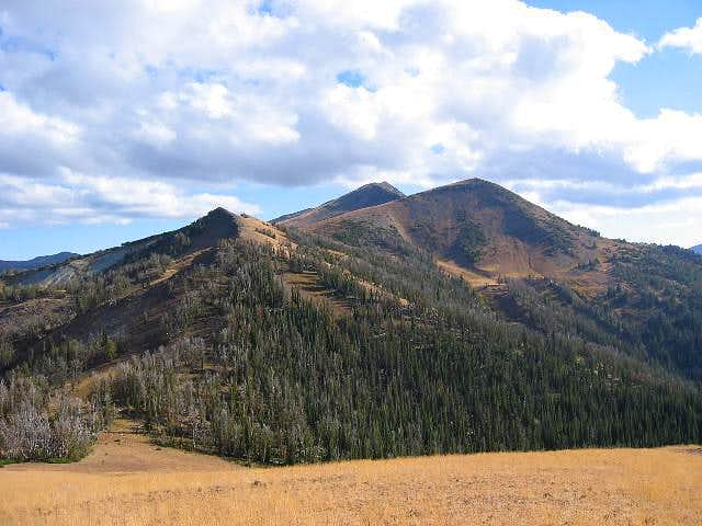 East Peak as seen from Mt....