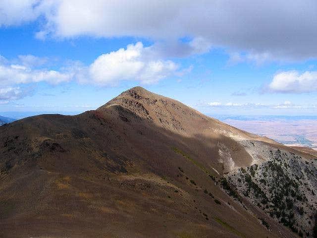 East Peak as seen from Hidden...
