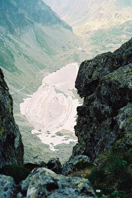 Zamurznuté Pleso (2113m) from...