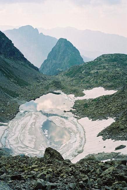 Zamrznuté Pleso (2013m) from...