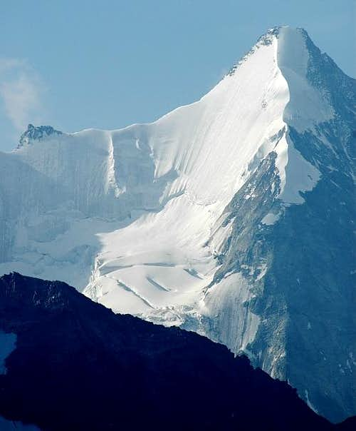 Obergabelhorn: NW ridge and N...