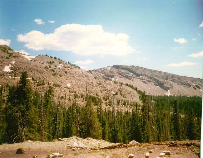 Smith And Morehouse Erickson Basin Route Climbing