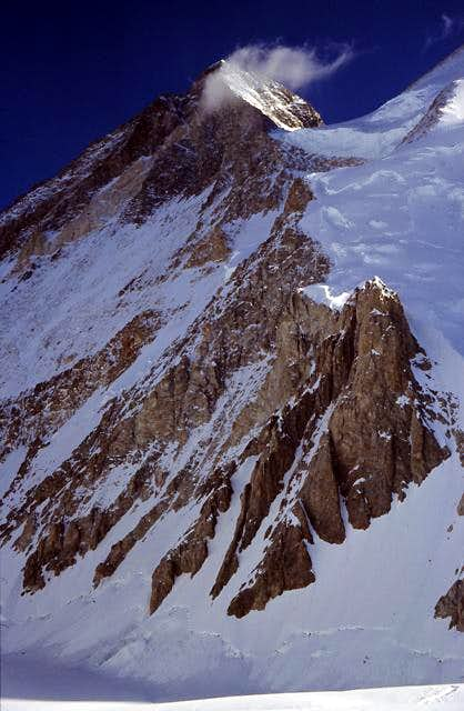 Gasherbrum III 7952m. Early...
