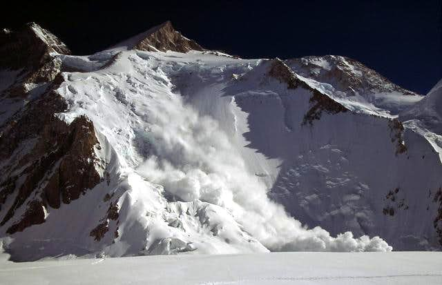 Photo # 2. The avalanche has...