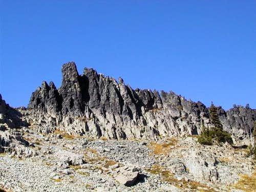 East face of Castle Peak