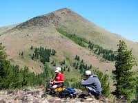 Twelvemile Peak from saddle...