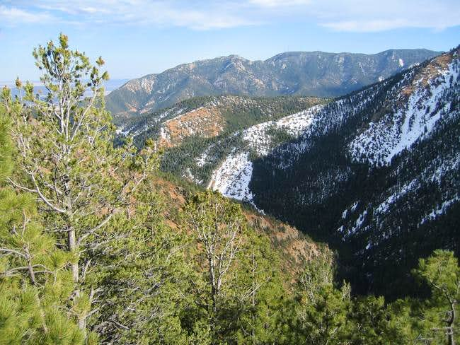 Cheyenne Mountain from North...