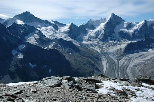 Zinalrothorn, Trifthorn - the...