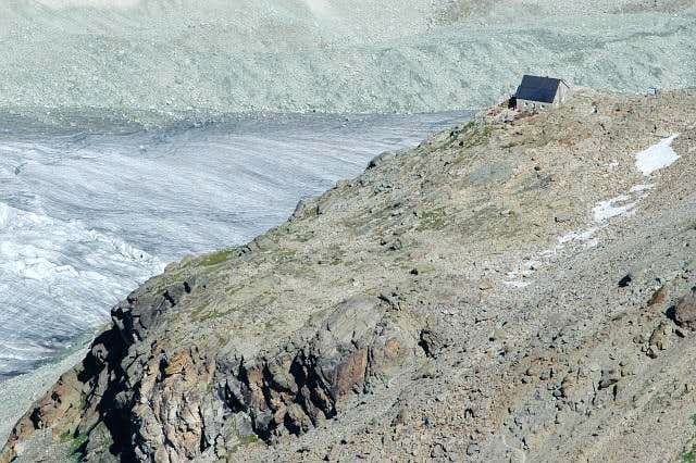Cabane de Moiry. Glacier de...