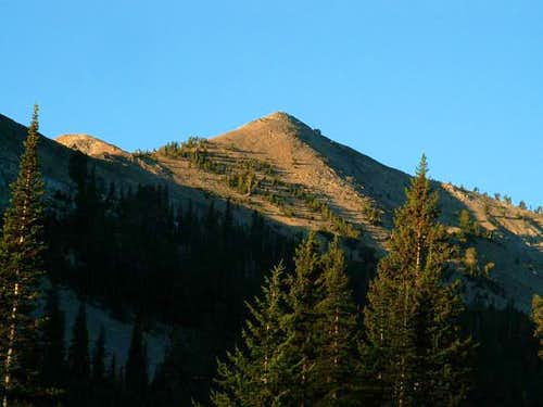 Baker Peak\'s false summit...