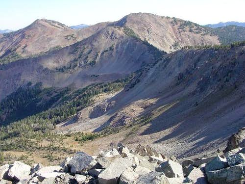 Baker Peak seen from the...