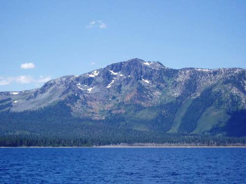 Tallac from Lake